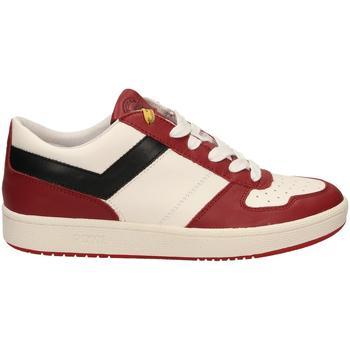 Scarpe Uomo Sneakers basse Pony CITY WINGS c7-bianco-rosso