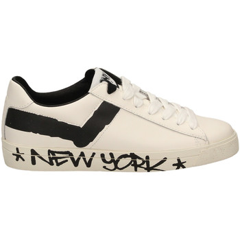 Scarpe Uomo Sneakers basse Pony TOP STAR OX f1-bianco-nero