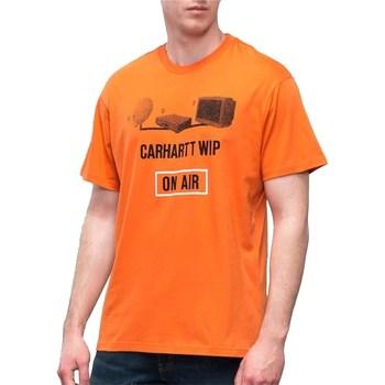 Abbigliamento Uomo T-shirt maniche corte Carhartt I025056-S-S-ON-AIR-T-SHIRT 963-90-arancione
