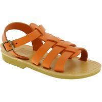 Scarpe Unisex bambino Sandali Attica Sandals Attica sandalo da bambino persephone in pelle di vitello ne arancio