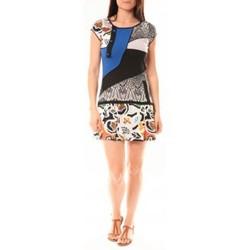 Abbigliamento Donna Abiti corti Bamboo's Fashion Robe BA1513 Bleu Blu