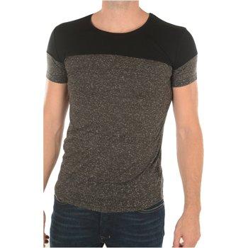 Abbigliamento Uomo T-shirt maniche corte Goldenim Paris maniche corte 1474 - Uomo nero