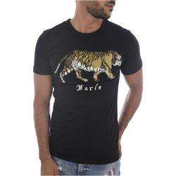 Abbigliamento Uomo T-shirt maniche corte Goldenim Paris maniche corte 1459 nero