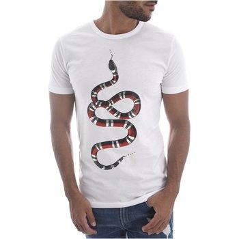 Abbigliamento Uomo T-shirt maniche corte Goldenim Paris maniche corte 1452 bianco