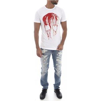 Abbigliamento Uomo T-shirt maniche corte Goldenim Paris maniche corte 1450 - Uomo bianco