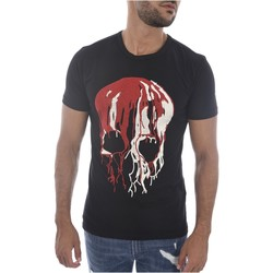 Abbigliamento Uomo T-shirt maniche corte Goldenim Paris maniche corte 1450 - Uomo nero