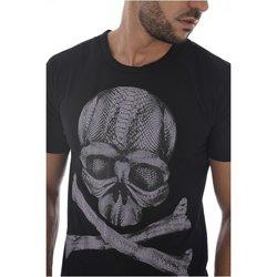 Abbigliamento Uomo T-shirt maniche corte Goldenim Paris maniche corte 1455 nero