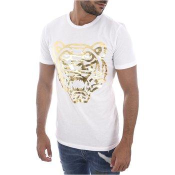 Abbigliamento Uomo T-shirt maniche corte Goldenim Paris maniche corte 1457 bianco