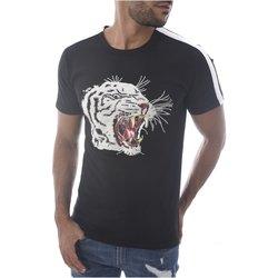Abbigliamento Uomo T-shirt maniche corte Goldenim Paris maniche corte 1458 nero