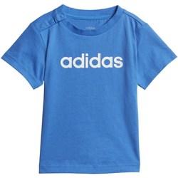 Abbigliamento Bambino T-shirt maniche corte adidas Originals DV1272 Blu