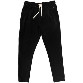 Abbigliamento Uomo Pantaloni da tuta Ko Samui Tailors | Basic Chenille Pants Nero | KSU_PCM BASIC FW19 BLK Nero