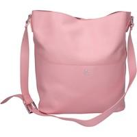 Borse Donna Tracolle J&c Jackyceline rosa pelle AB977 rosa