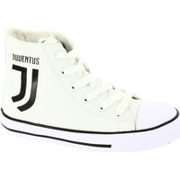 Scarpe Bambino Sneakers alte Juventus Sneakers Alta Bianco