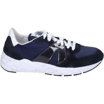 Scarpe Uomo Sneakers basse Guardiani sneakers tessuto camoscio Blu