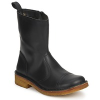 Scarpe Donna Stivaletti Swedish hasbeens DANISH BOOT Nero