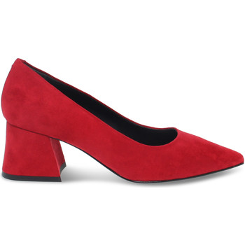 Scarpe Donna Décolleté Pollini Décolleté  in camoscio rosso rosso