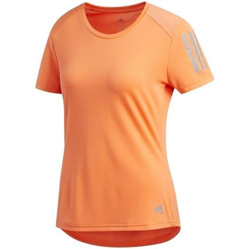 Adidas Originals Own The Run Tee Arancio - Abbigliamento T-shirt maniche corte damen 39,99