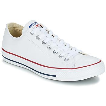 Scarpe Sneakers alte Converse Chuck Taylor All Star CORE LEATHER OX Bianco