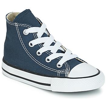 Scarpe Bambino Sneakers alte Converse CHUCK TAYLOR ALL STAR CORE HI MARINE