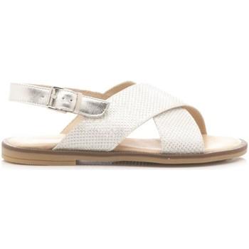 Scarpe Bambina Sandali Florens Sandali Bambina W6886 bianco, argento