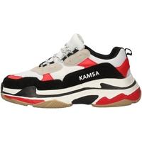 Scarpe Uomo Sneakers basse Kamsa VALENCIA BIANCO