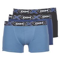 Biancheria Intima  Uomo Boxer DIM X-TEMP BOXER x3 Blu / Marine / Nero