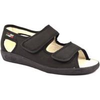 Scarpe Donna Pantofole Gaviga GA180ne nero
