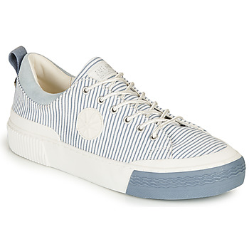 Scarpe Donna Sneakers basse Palladium STUDIO 02 TXT Bianco / Blu