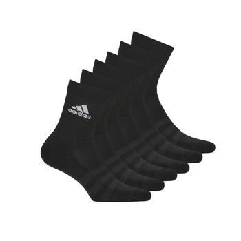 Accessori Calze sportive adidas Performance CUSH CRW 6PP Nero