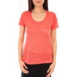 Abbigliamento Donna T-shirt maniche corte By La Vitrine T-Shirt BLV07 Corail Arancio