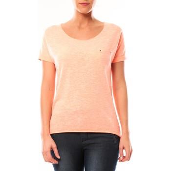 Abbigliamento Donna T-shirt maniche corte By La Vitrine Tee shirt S13090 Corail Arancio