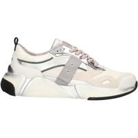 Scarpe Donna Sneakers basse Blauer 9FMONROE01 Bianco e argento