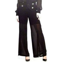 Abbigliamento Donna Pantaloni morbidi / Pantaloni alla zuava Cannella ATRMPN-03612 Nero