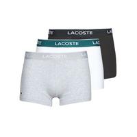 Biancheria Intima  Uomo Boxer Lacoste 5H3389-NUA Nero / Bianco / Grigio