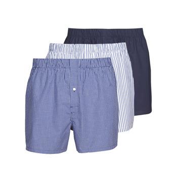 Biancheria Intima  Uomo Boxer Lacoste 7H3394-8X0 Bianco / Blu