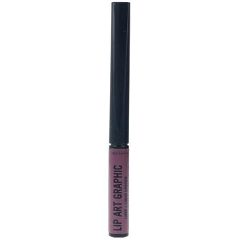 Bellezza Donna Rossetti Rimmel London Lip Art Graphic Liner&liquid Lipstick 220-vandal 5 ml