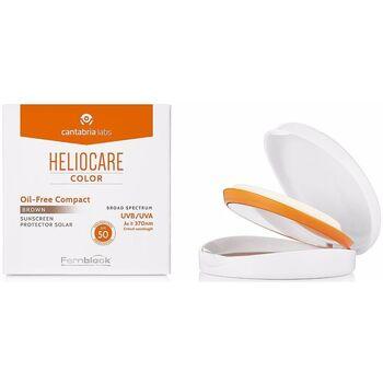 Bellezza Fondotinta & primer Heliocare Color Compacto Oil-free Spf50 brown 10 Gr