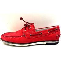 Scarpe Uomo Scarpe da barca Fontana ATRMPN-10527 Rosso