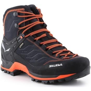 Scarpe Uomo Trekking Salewa Ms Mtn Trainer Mid Gtx 63458-0985 black, orange