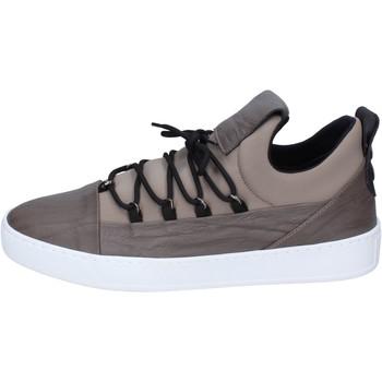 Scarpe Uomo Sneakers basse Alexander Smith sneakers tessuto pelle beige