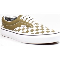 Scarpe Donna Sneakers basse Vans era (checkerboard) beech trwht VN0A4BV4VXI1 Verde