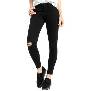 Abbigliamento Donna Jeans Lois denim black lua 205312882 Nero