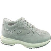 Scarpe Bambina Sneakers basse Hogan HXC00N0L311CR0B204-NEBBIA - IN  Altri