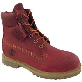 Scarpe Donna Stivaletti Timberland 3204R-RED - BOOTS 6 IN PREMIUM  Rosso