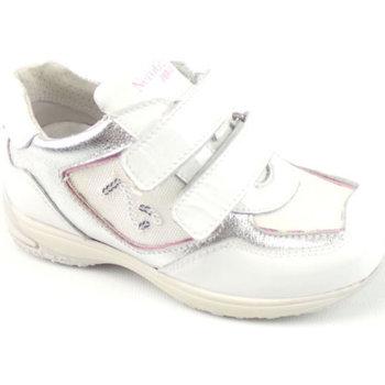 Scarpe Bambina Sneakers basse Nero Giardini P226561-F707 - SNEAKERS STRAPP  Bianco