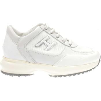 Scarpe Bambina Sneakers basse Hogan HXC00N03242-137B001 - INTERACT  Bianco