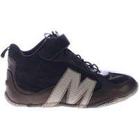 Scarpe Bambino Sneakers alte Merrell 544287-BLACK - Relay drive  Nero