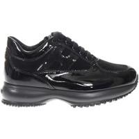 Scarpe Bambina Sneakers basse Hogan HXC00N04180055OB999-NERO - Int  Nero
