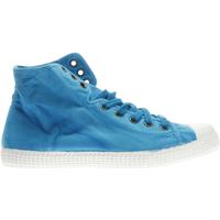 Scarpe Donna Sneakers alte Cienta 61 777 62-UNICA - Tennis alto  Blu