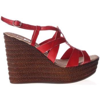 Scarpe Donna Sandali Julie 575b-UNICA - Sandalo  Rosso